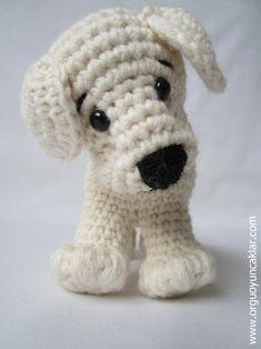 Crochet Animal Patterns, Stuffed Animal Patterns, Crochet Animals, Big Stuffed Animal, Crochet Mignon, Dog Crafts, Amigurumi Doll, Crochet Dolls, Knitting Yarn