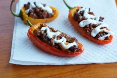 Mini Taco Stuffed Peppers - What's Cooking with Jim