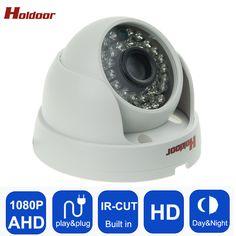 Holdoor Holdoor Security Dome Camera AHD Camera 1080P CCTV  AHD Camera HD 2MP 36Pcs Leds IR-Cut Night vision Indoo free shipping #Affiliate