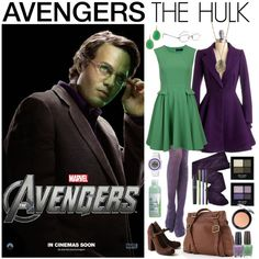"""[Outfits inspired by The Avengers] AVENGERS Ensemble 