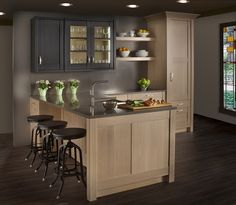 Beautiful North West Style Kitchen, Perfect For Seattlites.