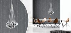 Use number of  BALL pendants over dining table. Get it at http://www.boconcept.com/en-ie/accessories/lamps/lamps/pendants