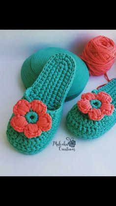 Crochet patterns free socks crafts 68 ideas for 2019 Crochet Hat For Women, Love Crochet, Easy Crochet, Crochet Baby, Crochet Sandals, Knitted Slippers, Crochet Slippers, Slipper Socks, Crochet Designs