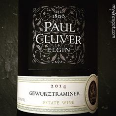 Paul Cluver 2014 Gewürztraminer (SRP $16.99): Grown in the cool-climate Elgin Valley; situated just south-east of Cape Town, South Africa, this wine is fresh and beautifully aromatic. Estate plantings of Gewürztraminer date back to 1987 and the Culver family has owned the property since 1896. The cool 2014 vintage ... South African Wine, Wine Reviews, My Glass, Cape Town, Fresh, Vintage, Food, Wine Pairings, Red Berries