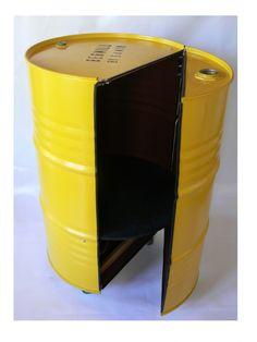 Recycled metal barrels » Recyclart