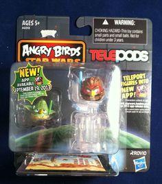 Angry Birds Star Wars Telepods Yoda & Anakin Skywalker Padawan Bird Brand New