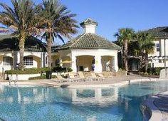 Clubhouse Kissimmee Florida, Us Beaches, Walt Disney World, Ideal Home, Swimming Pools, Condo, Villa, Mansions, House Styles
