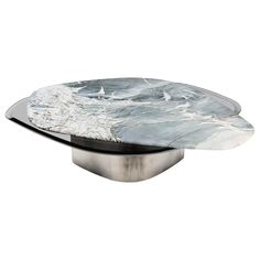 Table Furniture, Cool Furniture, Modern Furniture, Furniture Design, Furniture Ideas, Coffee Table To Dining Table, A Table, Glass Table, Center Table Living Room