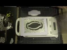 Go Press & Foil - Esthetica cut, foil & emboss dies - Couture Creations . Diy Wall, Emboss, Flakes, 3 D, Paper, Board, Youtube, Crafts, Manualidades