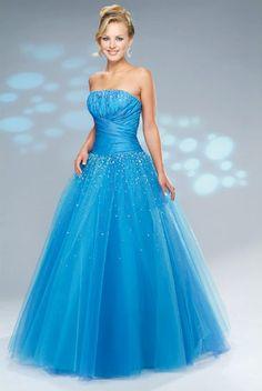 long blue prom dresses it is so pretty