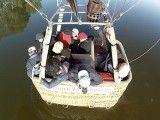 Mérida: Si las condiciones lo permiten se puede tocar el agua con la barquilla del globo