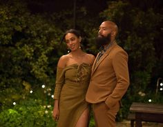 """""""Hubby and I at the @saintheronshop @bigcommerce launch party, aka one of the most magical nights of my life. (More on that later:) Wearing Phlemuns for…"""""""