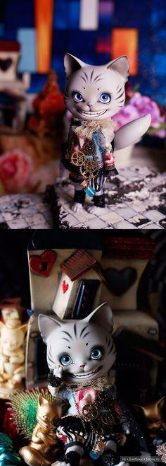 Лимитный кот Cheshire Pang лот Piposland / BJD - шарнирные куклы БЖД / Бэйбики. Куклы фото. Одежда для кукол