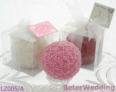 Uso de la fuente de la vela de la bola de Rose como el recuerdo Wedding y regalo Wedding LZ005/A del favor o de boda