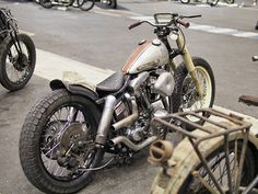 Bobber Inspiration | Harley Shovelhead | Bobbers and Custom Motorcycles