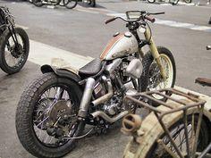 Bobber Inspiration   Harley Shovelhead   Bobbers and Custom Motorcycles