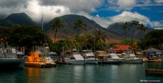 Lahaina Harbor - Lahaina, Maui | The Design Foundry by thedesignfoundry, via Flickr