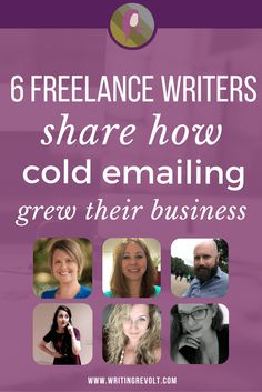 How Cold Emailing Clients Grew These 6 Freelance Businesses #Outreach