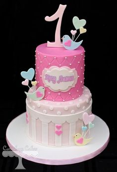 Sweet Bird Themed cake