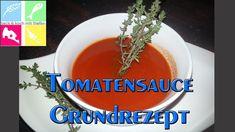 Tomatensauce - Basis - Rezept von Backen und Kochen Mit Stefan Dips, Canning, Spices And Herbs, Kochen, Dip, Sauces
