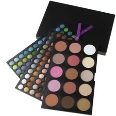 Palette 183 Colors professional Eyeshadow Blush Set Makeup (20% OFF │ $24.12)
