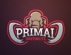 "Confira este projeto do @Behance: ""Primal - Mammoth Mascot Logo"" https://www.behance.net/gallery/22434023/Primal-Mammoth-Mascot-Logo"