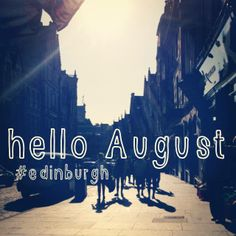 It's Edinburgh Festival time! Wish I was there this year #gutted