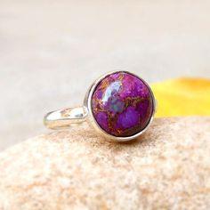 Pink Opal Ring Leaf Motif Ring Sterling Silver Ring Green Aventurine Ring Gemstone Ring Gemstone Sterling Silver Leaf Motif Ring