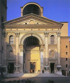 The Basilica of Sant'Andrea is a Roman Catholic co-cathedral and minor basilica in Mantua, Lombardy (Italy). It is one of the major works of 15th century Renaissance architecture in Northern Italy.
