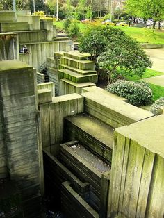 THE SEATTLE FREEWAY PARK by LAWRENCE HALPRIN, ANGEL DANADJIEVA, SEATTLE, USA, 1976 Architectural Landscape Design