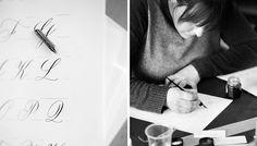 The Elle In LOVE, calligraphy, porridge papers, lincoln nebraska, cheryldyer.com