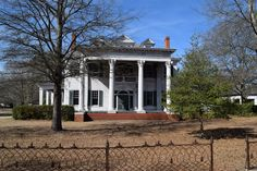 FOR SALE- 6332 SQ FT. Historic Neoclassical Estate on +1 acre lot in Red Springs NC, home of Flora McDonald Academy. The home was built in 1909 with tax appraised value of $271,900.00. Designed by …