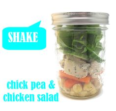 CHick Pea and Chicken Salad