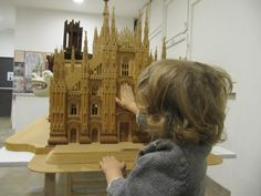 Modello ligneo del Duomo di Milano