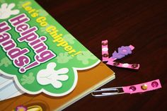 Chipper Recycle Craft – DIY Bookmarks for Kids!