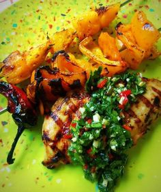 Grilled Tequila Lime Chicken HispanicKitchen.com