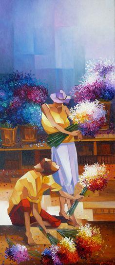 Floristas ³--Damiao Martins-Brazil