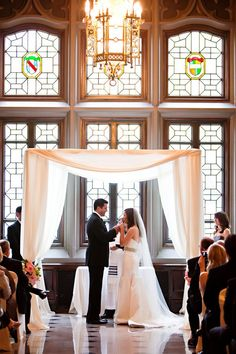 The Beauty of a Traditional Chuppah
