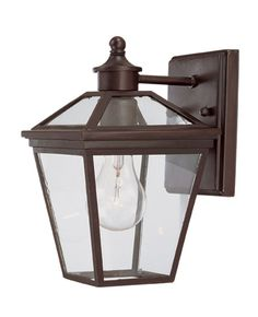 Savoy House Outdoor Lighting 5-140-13 - Ellijay 1 Light Wall Mount Lantern English Bronze Finish - $86.00