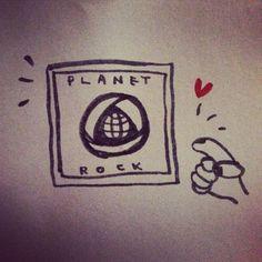 planet rock!  ちまこ作