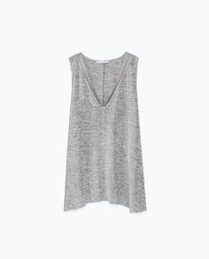 T - SHIRT WITH EDGING DETAIL - View all - T - shirts - WOMAN | ZARA Czech Republic