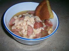 Crock Pot Recipe Exchange: Navy Bean and Smoked Sausage Soup