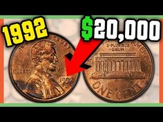Valuable Pennies, Rare Pennies, Valuable Coins, Old Coins Worth Money, Old Money, Old Coins Value, Silver Coins For Sale, Coin Worth, Penny Coin