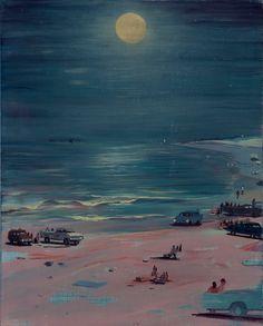Jules de Balincourt, Beach Barons, 2014