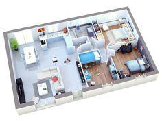 maison petit budget sun top duo | Home / Apartement Konsep ...