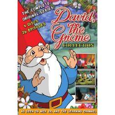 Amazon.com: David the Gnome (4-Disc Set): Tom Bosley, Jane Woods, Christopher Plummer, Ernest Reid: Movies & TV