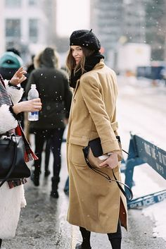 M's: 6 Winter Beret Outfits To Get You Inspired