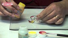 Tutorial Vitrart profesional Pintura para Vidrios Profesional Artel