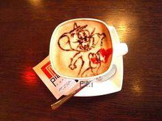 latte art by me