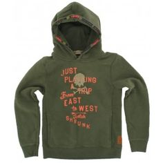 Scotch and Soda - Trui East to West groen